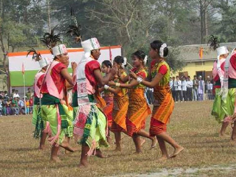 Bihu Dance Assam-ias coaching center in mumbai