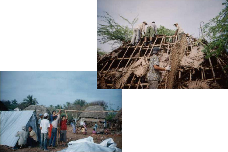 Relief Work In Nagapatanam After Tsunami In 2004.